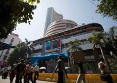 Mumbai: Benchmark Sensex created a fresh record as it today settled at 33,731, driven by better-than- expected earnings by blue-chip companies.  But the NSE Nifty pulled back from record on profit- booking and ended in the negative terrain.