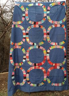 Single Girl quilt top. There will be a better picture soon, I'm just so thrilled my blocks are together I had to post!