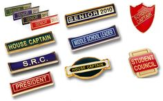 AJ Parkes - Beautiful school badges will encourage your student to do their best! School Badges, Student Council, Name Badges, Badge Design, We Are The Ones, School Design, Organization Ideas, Middle School, Encouragement