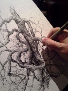 Pitt Artist Pens with Kelly Avery, Drawing Workshop November 15, 1:00 - 3:00pm