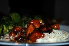 Good Thymes and Good Food: Bourbon Chicken