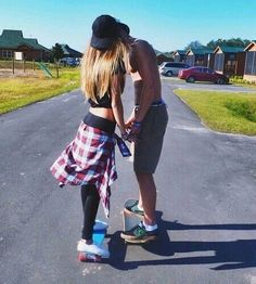 boyfriend, couple, cute couple, girlfriend, love, relationship, skate, relationship goal