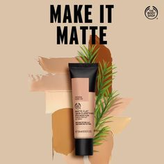 Body Shop At Home, The Body Shop, Cherry On The Cake, Matte Foundation, Cake Shop, Tea Tree, Searching, Clay, Leaves