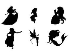 disney silhouettes - Google Search