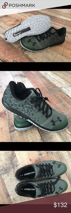 New Under Armour Speed Tire Ascent Low Trail Shoes Brand New - UA Storm  Michelin Tire Wild Gripper Soles Color: Army Green & Black UA Logo Never worn/No imperfections Super neat shoe! Under Armour Shoes Athletic Shoes