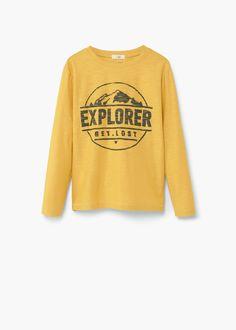 T-shirt coton image | MANGO KIDS