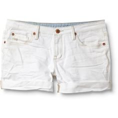 Quiksilver Gypsy Tour Sun Bleach Shorts ($22) ❤ liked on Polyvore featuring shorts, bottoms, pants, short, cotton shorts, cuffed shorts, denim short shorts, cuffed jean shorts and bleached shorts