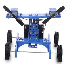 DIY Rubber Wheel Trolley Wind NO.34 Model Kit For Arduino DIY Handmade Assembling