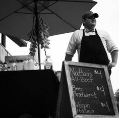 Matt Gladfelter is a current hot dog vendor that earn his full-time income from his business. Learn how much you can expect to make by operating a cart here. Beer Bratwurst, Starting A Food Truck, Beef Hot Dogs, Hot Dog Cart, Hot Dog Stand, Dog Branding, Start Up Business, Business Ideas, I Need To Know