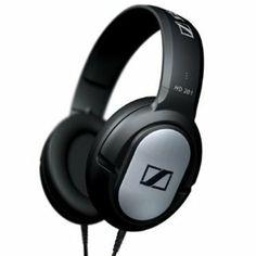Amazon.com: Sennheiser HD201 Lightweight Over-Ear Binaural Headphones: Electronics