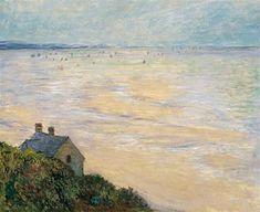 Claude Monet - The Hut at Trouville