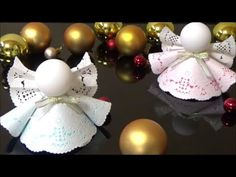 Christmas Bulbs, Christmas Crafts, Xmas, Advent Calendar, Holiday Decor, Youtube, Tutorials, Deco, Christmas Light Bulbs