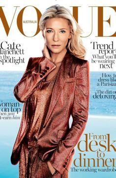 Cate Blanchett - Vogue Magazine Cover [Australia] (February 2014)