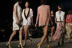 Feminine and modern designs promoted by South Korean brands.
