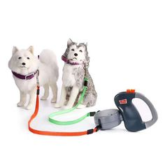 You have two dogs? 🐕🐩 ✅Dual Doggie Pet Leash allows you to walk two dogs at the same time, while maintaining individual control of each one! ✅Easy to use! ✅Get yours NOW with Off & Free USA shipping Two Dogs, Large Dogs, Small Dogs, Outdoor Dog, Training Your Dog, Dog Walking, Walking App, Dog Leash, Pets