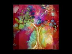 Alcohol Inks, with Wendy Videlock - YouTube ~ No Tutorial but lots of AMAZING images. Big Love! ....M