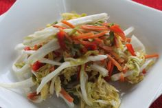 Pickled Napa Cabbage Slaw