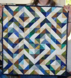 Triangles on a Roll Quilt Challenge....