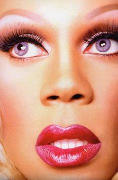 I'm not sure about the logistics but I think I have a lesbian crush on RuPaul
