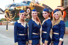 Have Vintage Flight Attendants greet your guests upon arrival!