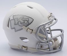 Kansas City Chiefs  ICE alternate Speed Riddell Mini Football Helmet ** Be sure to check out this awesome product.