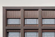 Façade. Office building Moganshan Road by David Chipperfield Architects. Photography © Simon Menges. Click above to see larger image.