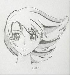 Comment Dessiner Un Manga Facile Art Manga Drawing Anime Sketch