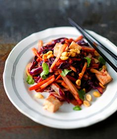 Kung Pao Chicken, Tofu, Carrots, Vegetables, Ethnic Recipes, Carrot, Vegetable Recipes, Veggies
