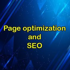 Page optimization and SEO 1. Optimize the page title The page title and the content you write on the site are part of the information that is displayed to the user in Google results, so it is better to be careful in writing the page title and try to insert the keyword in the title to influence the ranking and ranking process of Google. Have. The page title length should not be too long or too short, the normal page title length is about 70 characters. Note that in addition to trying to get…