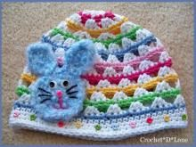 Colourful hat - no pattern
