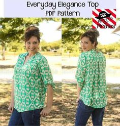 This shirt has all the style you need and is comfortable, loose and flowy to wear.