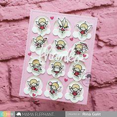 mama elephant | design blog Mama Elephant Stamps, Image Stamp, Elephant Design, Tooth Fairy, Copics, Paper Cards, Clear Stamps, Scrapbook Cards, Homemade Cards