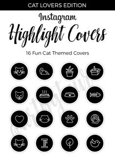 16 Best Instagram Highlight Covers images in 2019 | Cat lovers