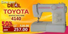 SEW-PER DEAL! Toyota 4140 #sale #discount #clearance #sewing #machine #toyota