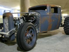 LOOK HERE FOR NEW VERSION - MUCH LESS SUPPORT NEEDED This RC was inspired by '32 Ford hot rod trucks, without being specific to any particular model, it is built around a laser cut aluminium chassis with a 3D printed (SLS Nylon) shell. The running gear is mostly sourced from the RC crawler world, aluminum hop-up axles, gearbox and suspension links. Rear Axle Front Axle Rear Tyres Motor and ESC Transmission with Gears Driveshaft You can find the full build instructions here: www.instructab...
