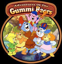 80's Cartoon Classic Adventures of the Gummi Bears custom tee Any Size Any Color | eBay