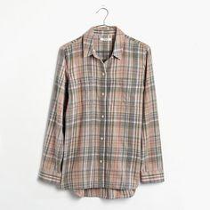 Ex-Boyfriend Shirt in Camden Plaid