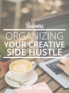 Balance your business and day job with these organization tips | Callie Creates