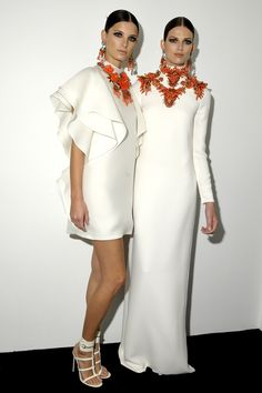 Ava Smith & Bette Franke - Gucci Backstage