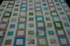 crazy mom quilts: filmstrip quilt tutorial - uses 1 jelly roll and 1 charm pack