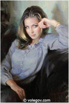 Vladimir Volegov--Ekaterina, portrait,