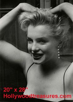 "Marilyn Monroe~Hair Salon~Spa~Photo~Decor~Stylist~Poster~20"" x 28"" #Unbranded"
