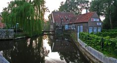Canal in Vreden, Germany, home to Niessing, wonderful Niessing.