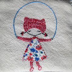 hula and skip embroidery pattern pdf by LiliPopo on Etsy