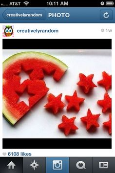 Someone on Instagram posted this! It looks like an awesome and fun thing to do in the summer!!!! Yummy