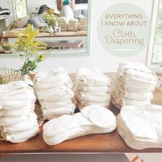 Perfect explanation of all types of cloth diapers and covers.