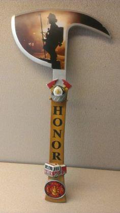 The Edge of Valor Symbol of Honor Firefighter Axe The Bradford Exchange
