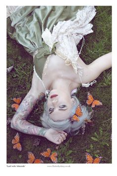 """""""Laid with Admirals"""" - Pin Up Photography"""