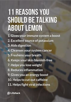 11 Reasons You Should Be Talking About Lemon
