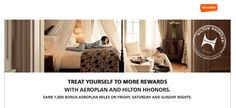 Earn 1,000 Bonus Aeroplan Miles for Weekend Stays at Hilton Hotels in Canada